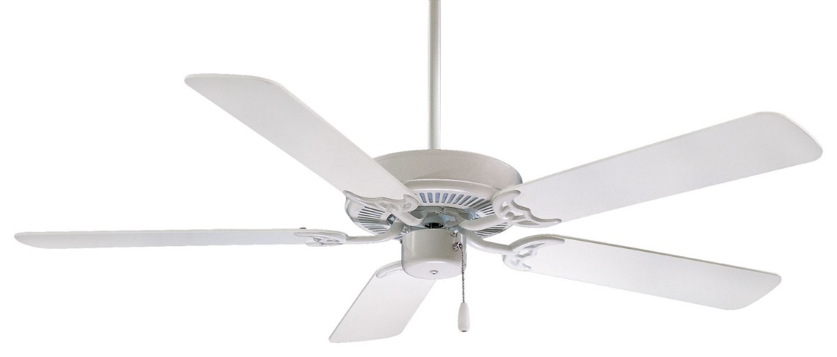 Minka Aire Contractor 42 White Ceiling Fan