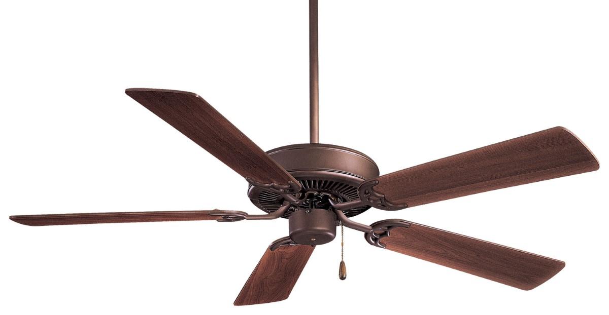 Minka Aire Contractor 52 Bronze Ceiling Fan Maple