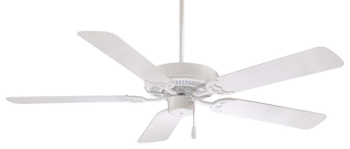 Minka Aire Contractor 52 White Ceiling Fan