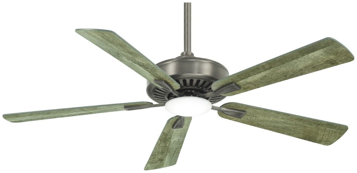 Minka Aire Contractor Plus Nickel Ceiling Fan LED