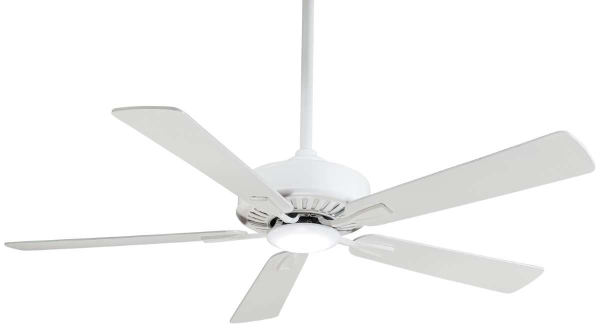 Minka Aire Contractor Plus White Ceiling Fan LED