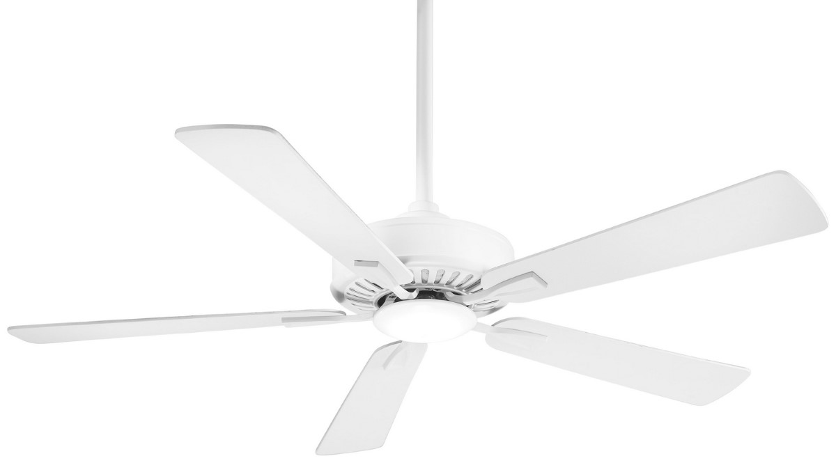 Minka Aire Contractor White Ceiling Fan