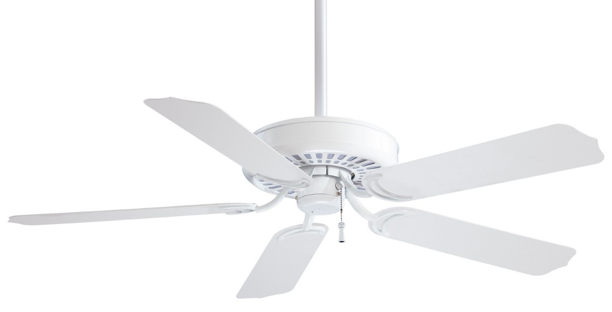 Minka Aire Sundance 52 White Ceiling Fan
