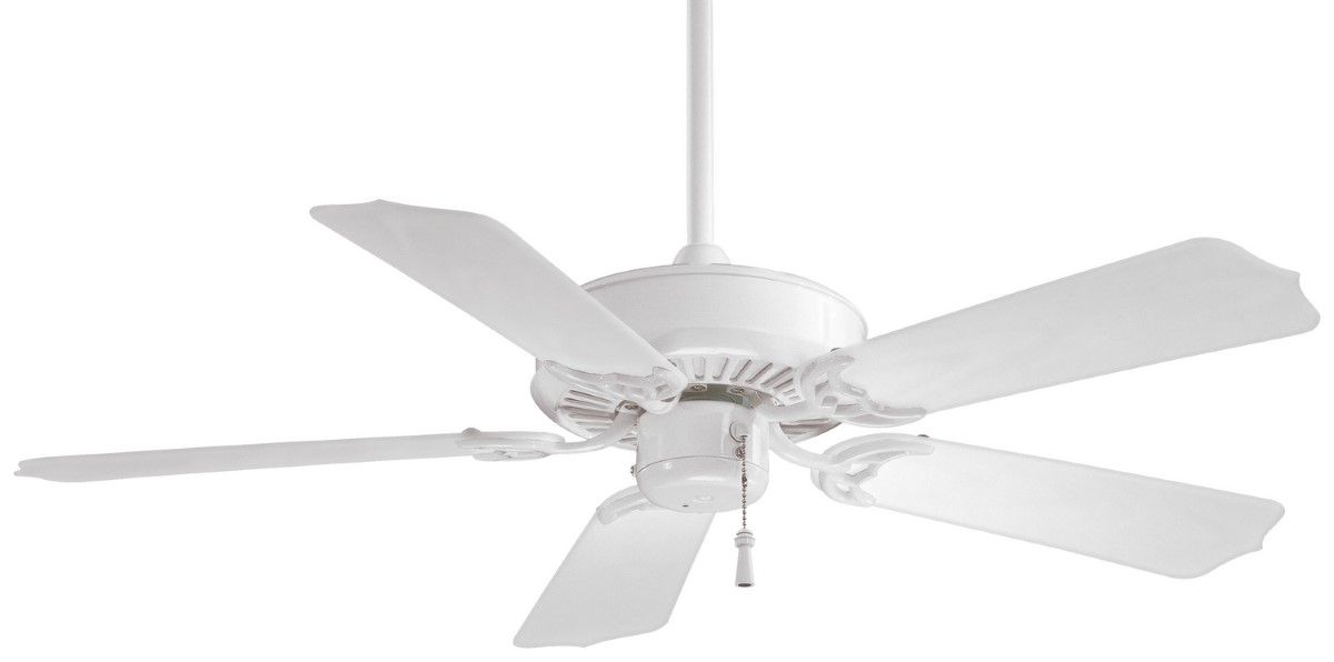Minka Aire Sundance 42 White Ceiling Fan