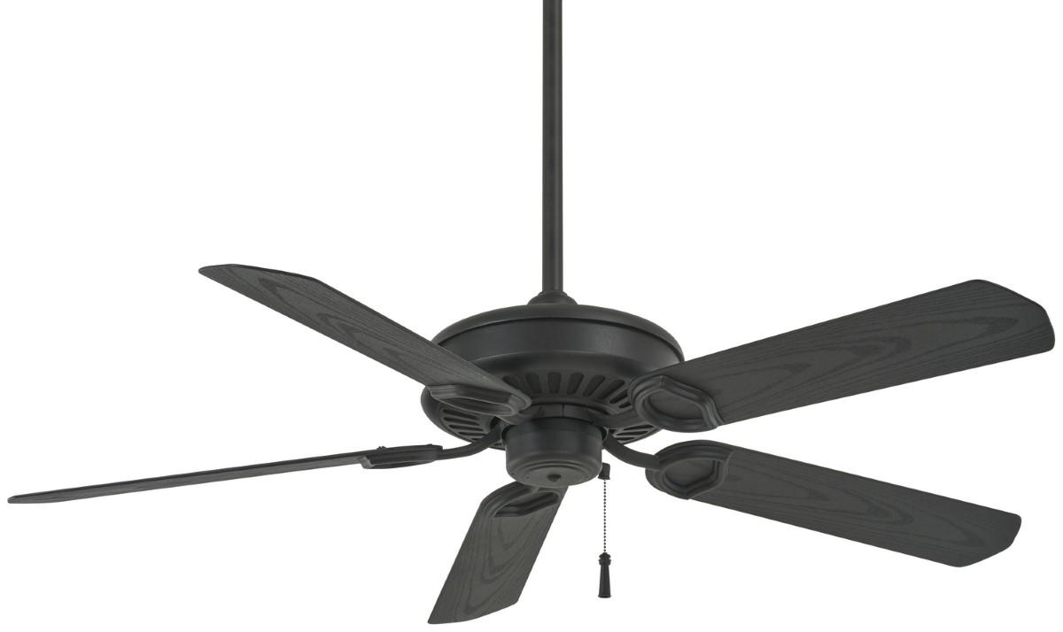 Minka Aire Sundowner Textured Coal Ceiling Fan