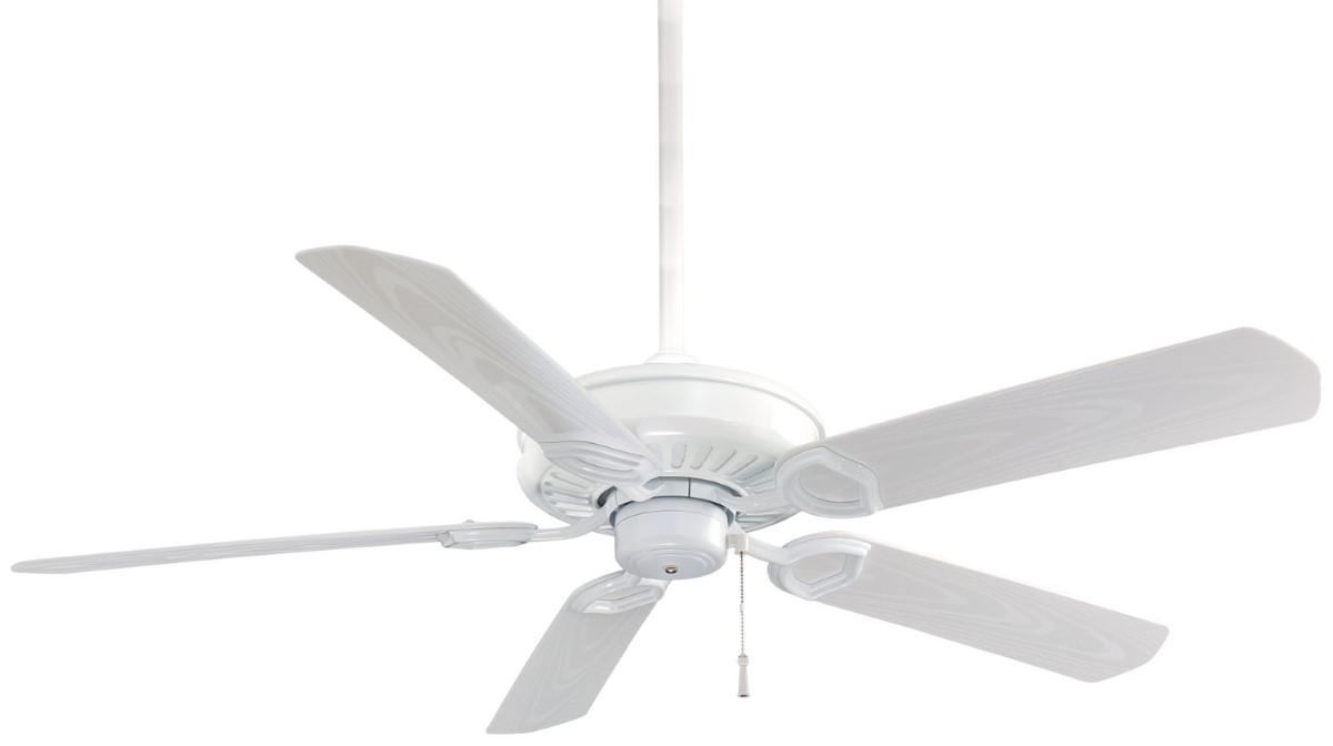 Minka Aire Sundowner White Ceiling Fan