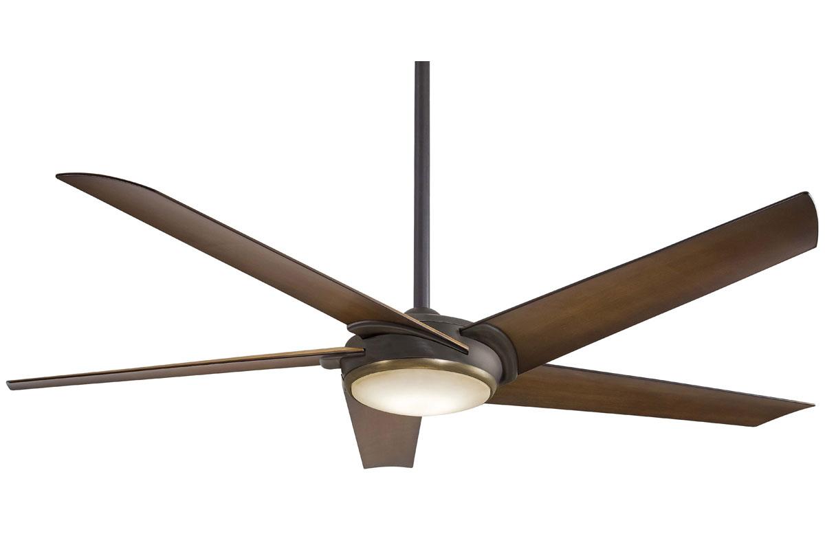 Minka Aire Raptor Bronze-Brass Ceiling Fan