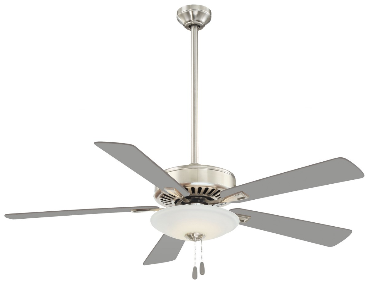 Minka Aire Contractor Uni-Pack Nickel Ceiling Fan
