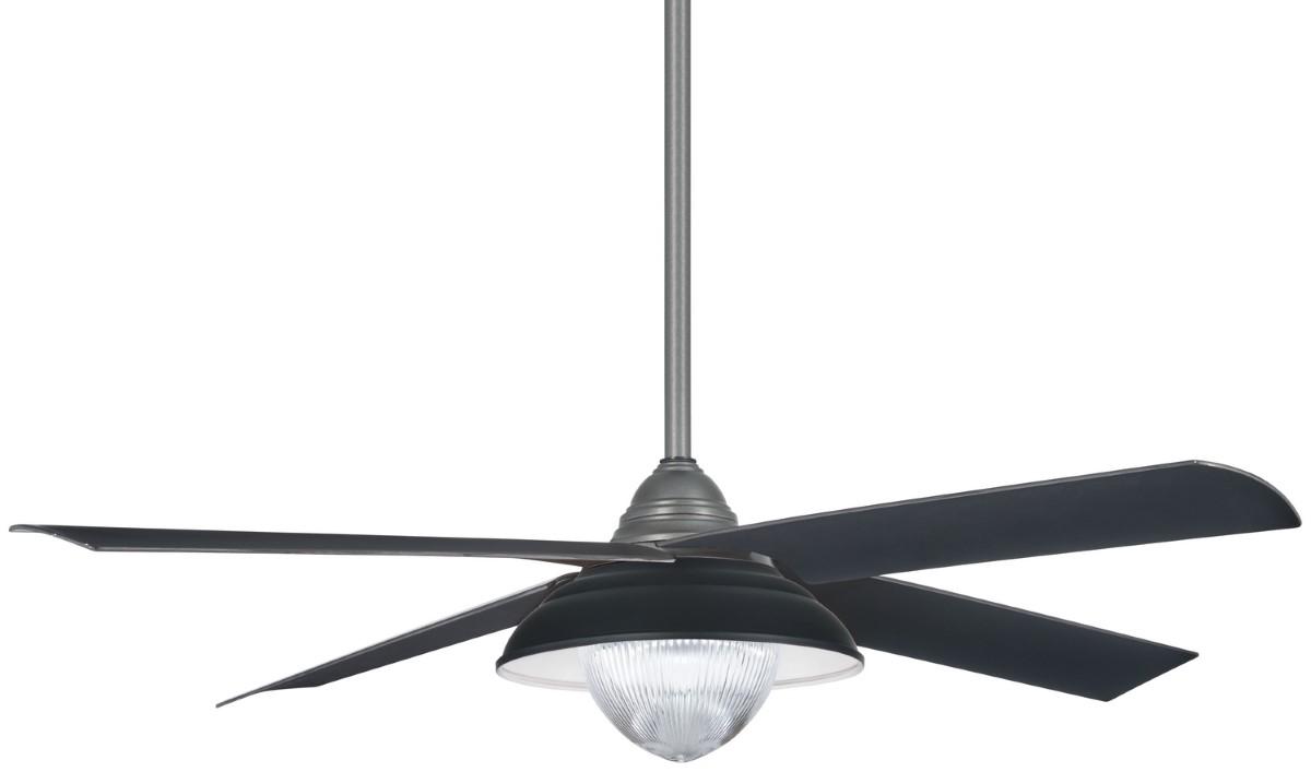 Minka Aire Shade Iron Ceiling Fan