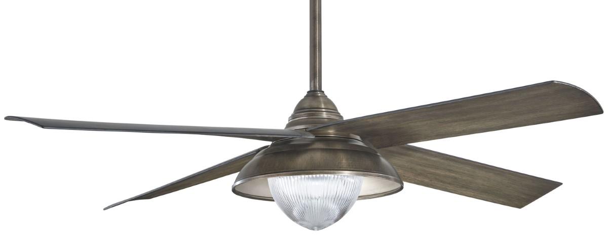 Minka Aire Shade Heirloom Bronze Ceiling Fan