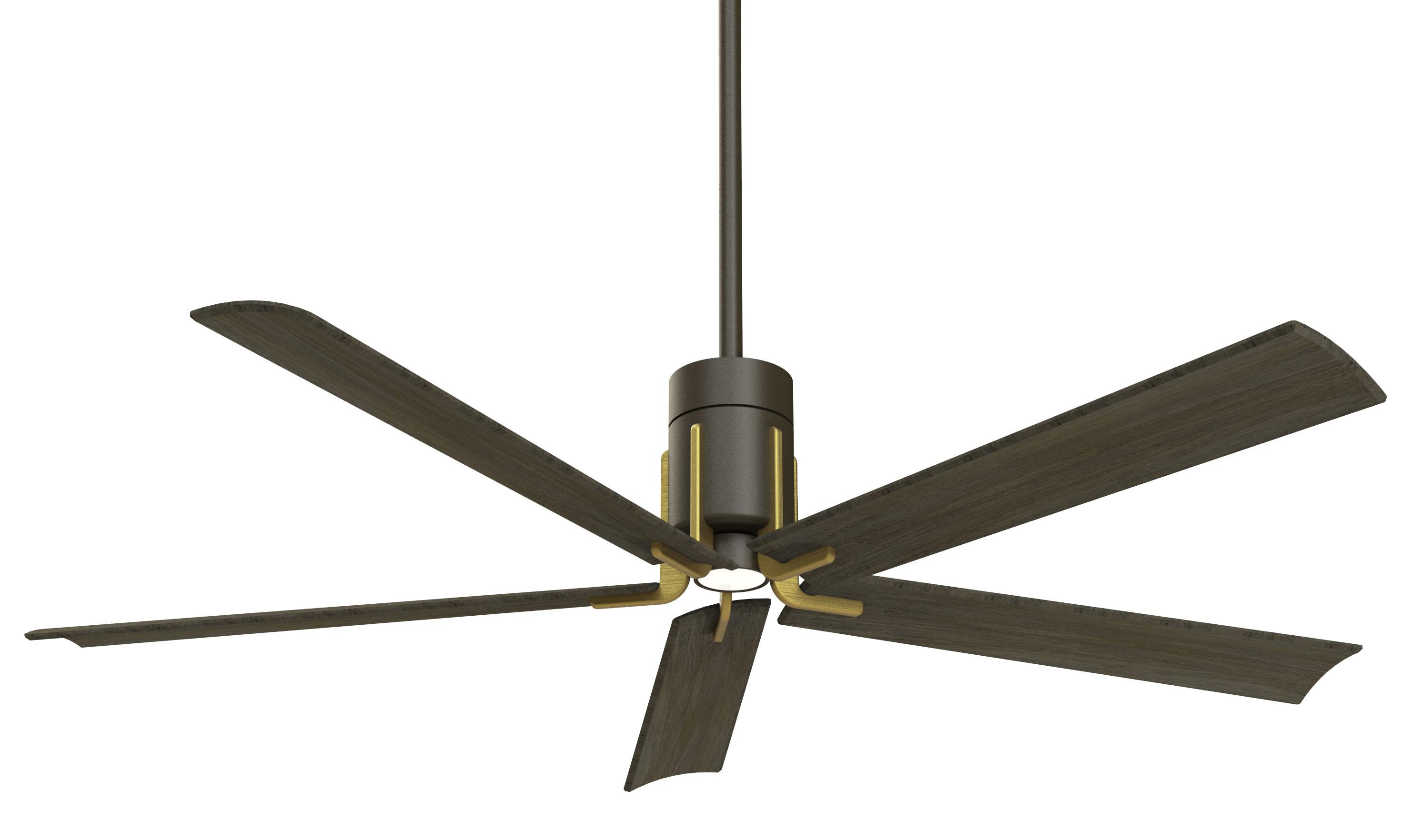 Minka Aire Clean Bronze-Brass Ceiling Fan