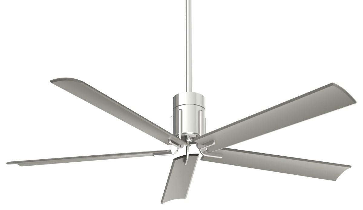 Minka Aire Clean Polished Nickel Ceiling Fan