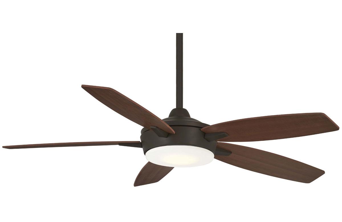 Minka Aire Espace Bronze-Maple Ceiling Fan