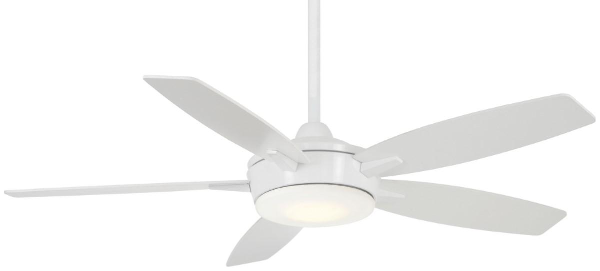 Minka Aire Espace White Ceiling Fan