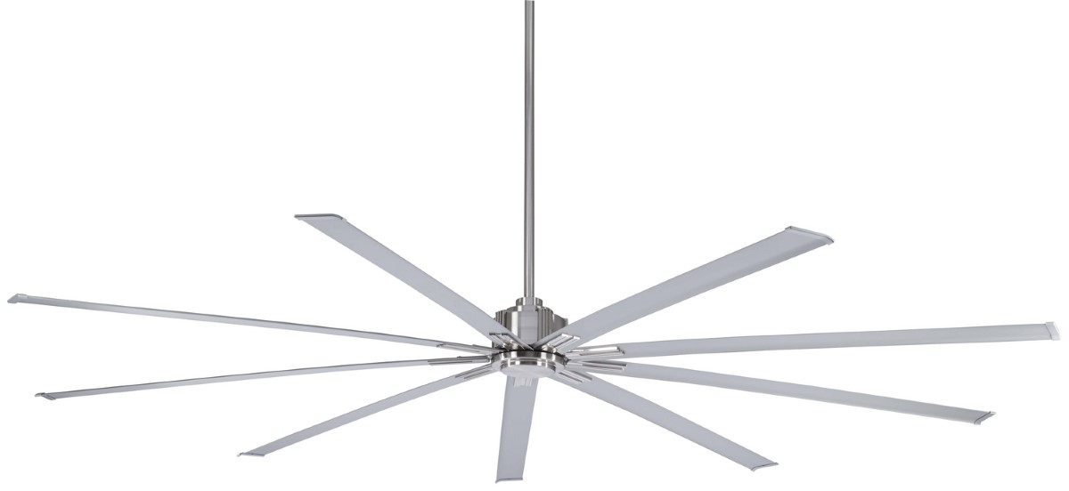 Minka Aire Xtreme 96 Brushed Nickel Ceiling Fan