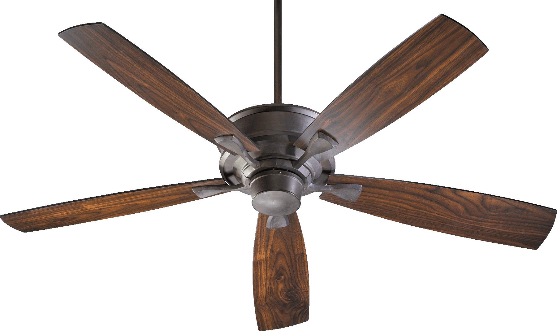 "Quorum Alton 60"" Toasted Sienna Ceiling Fan (42605-44)"