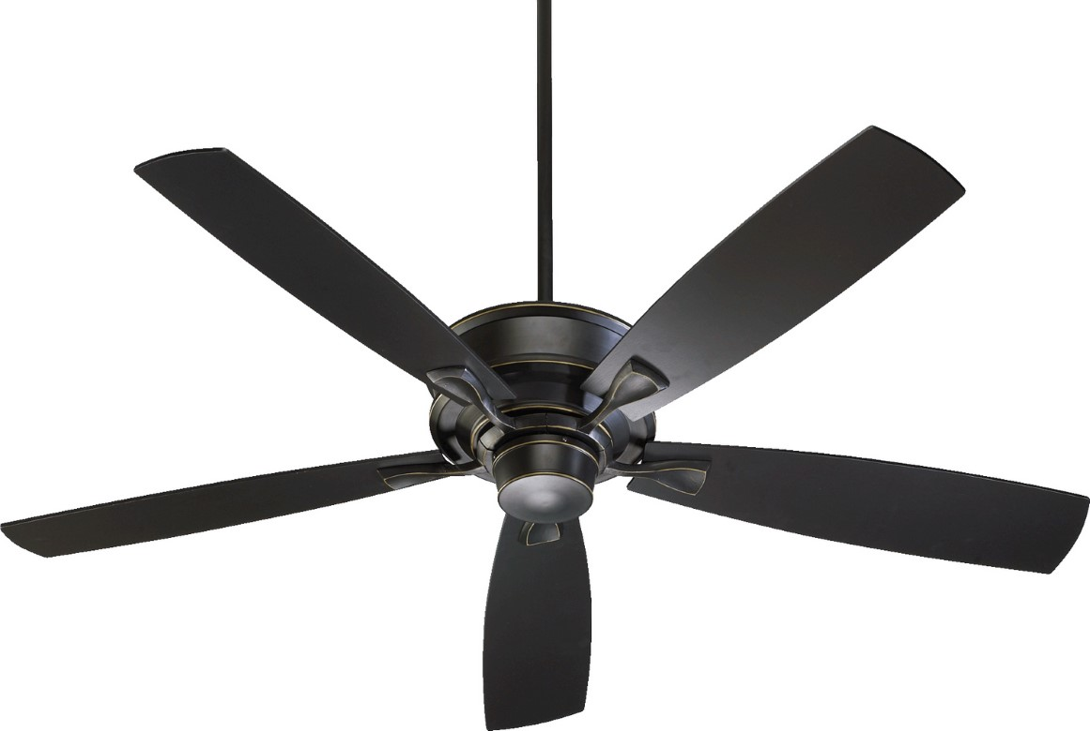 "Quorum Alton 60"" Old World Ceiling Fan (42605-95)"