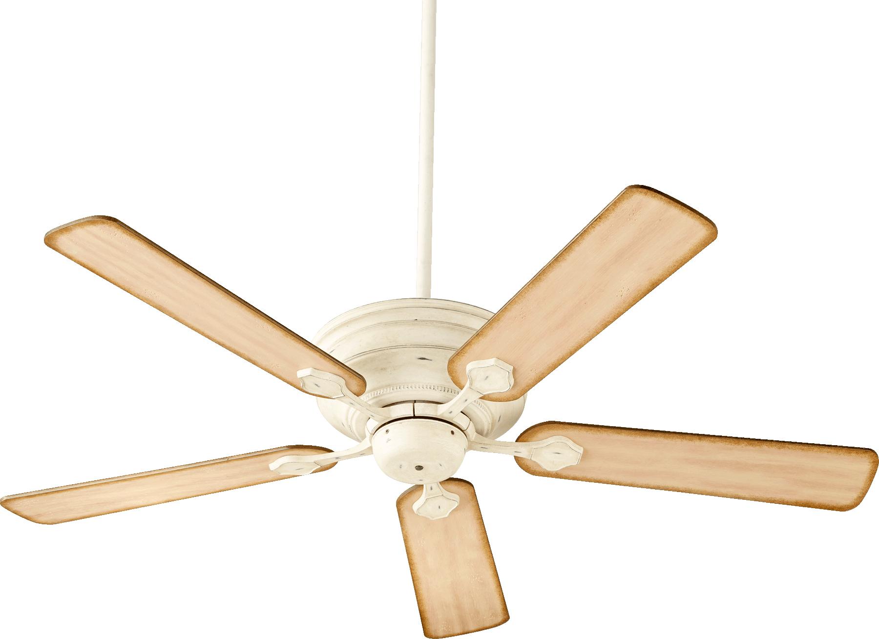 "Quorum Barclay 52"" Persian White Ceiling Fan (76525-70)"