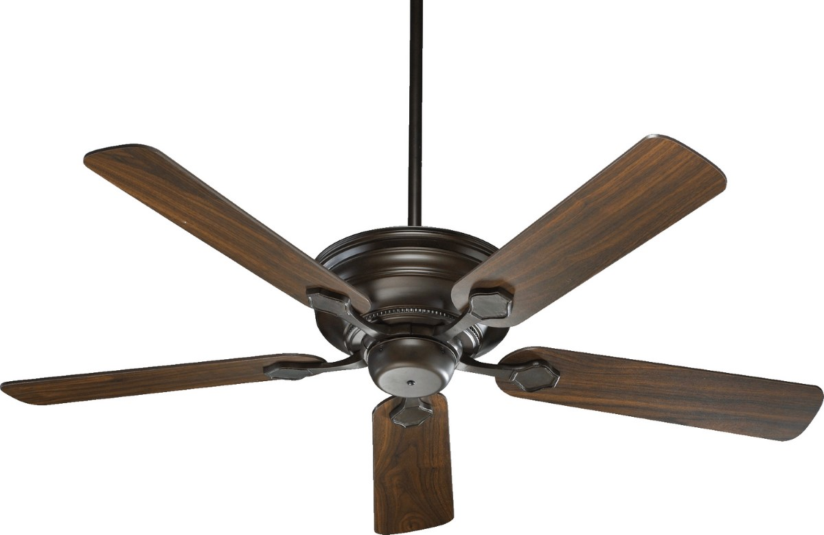 """Quorum Barclay 52"""" Oiled Bronze Ceiling Fan (76525-86)"""